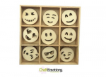 Holzornamente Box - Emoticons