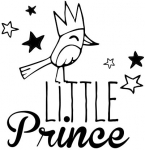 Holzstempel - Little Prince