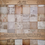Idea-Ology 12x12 Paper Stash - French Industrial