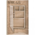 Idea-Ology Mini Configurations Chipboard Shadow Box Book