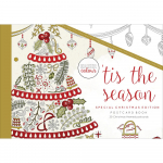 KaiserColour Tis The Season Christmas Postcard Book