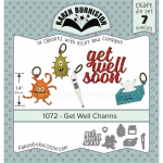Karen Burniston Die - Get Well Charms