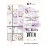 Lavender Frost Journaling Cards 3x4