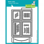 Lawn Cuts Craft Die - Scalloped Box Card Pop-Up