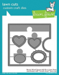 Lawn Fawn Dies - Reveal Wheel Square Add-On