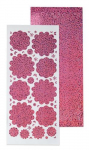 LeCrea - 10 Blume Sticker 5. diamant pink