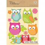 Lifes Little Occasions Sticker Medley Owl