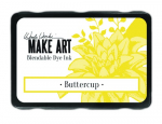MAKE ART Dye Ink Pad - Buttercup