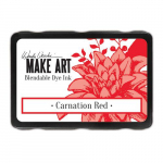 MAKE ART Dye Ink Pad - Carnation Red