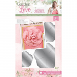 Metal Cutting Die - Garden of Love 3D Layered Rose