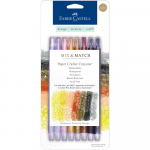 Mix + Match Paper Crafter Crayons - Neutral