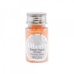 Nuvo Pure Sheen Confetti - sweet peach circles