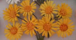 Paper Flowers - Daises Yellow