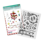 Polkadoodles Clear Stamps - Baubles and Banners Christmas