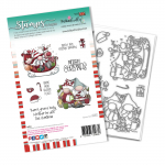 Polkadoodles Clear Stamps - Sleigh the Season