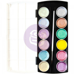 Prima Metallic Pastel Accents Semi-Watercolor Paint Set