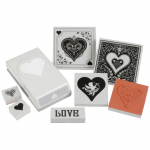Punch Pairings Large Punch + Stamps - Sweetheart