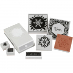 Punch Pairings Large Punch + Stamps - Winter Snowflake