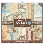 Sea Land 12x12 Paper Pack