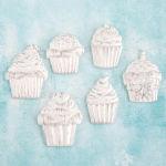 Shabby Chic Treasures Resin - Cupcakes