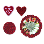 Sizzlits Die Set - Accordion Folder Flowers 2