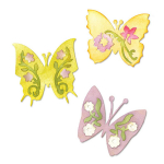 Sizzlits Die Set - Butterfly Set No. 3