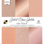 Solid Rose Golds W/Specialty Finishes 6x6 Mat Stack