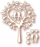 Specialty Die - Love Bird Tree