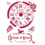 Stamperia A4 Stencil - Clock House of Roses