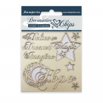 Stamperia Decorative Chips - Hope