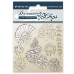 Stamperia Decorative Chips - Shells