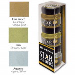 Stamperia Star Colors - Gold Silver Antique Gold