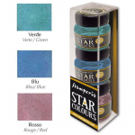 Stamperia Star Colors - Green Blue Red