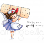 Stamping Bella Cling Stamps - Edna To The Rescue