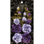 Staples Rose Bouquet Collection - French Lilac and Purple Royalt