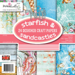Starfisch and Sandcastles 6x6 Paper Pack