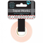 Tape Works Tape - Under Construction, Black and Red