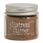 Tarnished Brass Distress Glitter