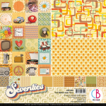 The Seventies 12x12 Pattern Pack