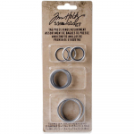 Tim Holtz Tag Press Rings Assorted