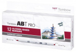 Tombow ABT PRO Alcohol - Dual Brush 12er-Set - Landscape