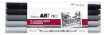 Tombow ABT PRO Alcohol - Dual Brush 5er-Set - Cold Gray