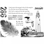 Unmounted Rubber Stamp - Call Of The Sea