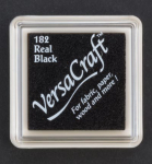 VersaCraft Mini Stempelkissen - Real Black