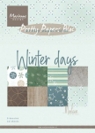 Winter Days by Marleen A5 Paper Bloc