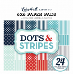 Winter Dots and Stripes 6x6 Paper Pad