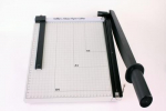 XL metal Papercutter with slider 30cm