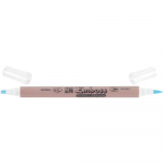 Zig Emboss Scroll  Brush Twin Tip Clear Marker